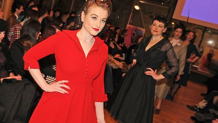 The Norwich Fashion Week 2013 vintage show at Norwich Cathedral saw the launch of Norwich label the