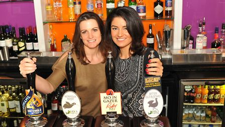 Evening News Pub of the Week, the Earlham Arms. Manageress Katie Hales and assistant manager Sophie