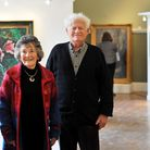 Art Alive show at the Assembly House in Norwich. Yvonne and John Millwood. Photo: Bill Smith
