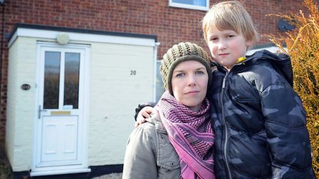 Callie Blackwell has been sent a letter saying she will be effected by the bedroom tax - Her son Der