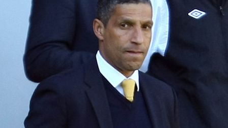 Chris Hughton admitted that his calm exterior disguised the inner turmoil that goes with the job. Pi
