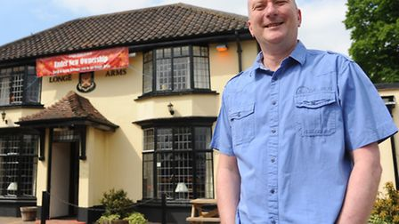 David May, the new landlord at the Longe Arms at Spixworth. Picture: Denise Bradley