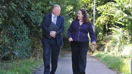 Julie Cooper back at the scene of the horrific attack off Europa Way, and with Detective chief inspe