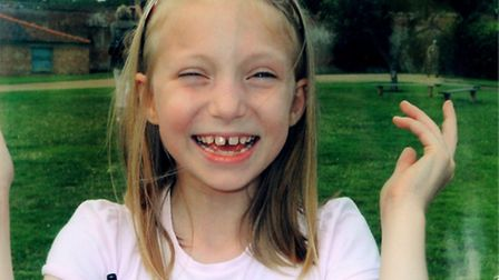 Maisie Price, who died from swine flu.