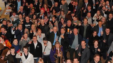 2013 City of Ale launch at St Gregory's