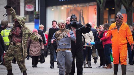 Zombies invade Norwich, but don't worry because City Hall have contingency plans in place for a Zomb