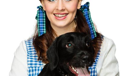 Laura Dignum as Dorothy and Marley as Toto