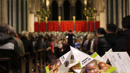 The concert at Norwich's catholic cathedral to help the world's poor