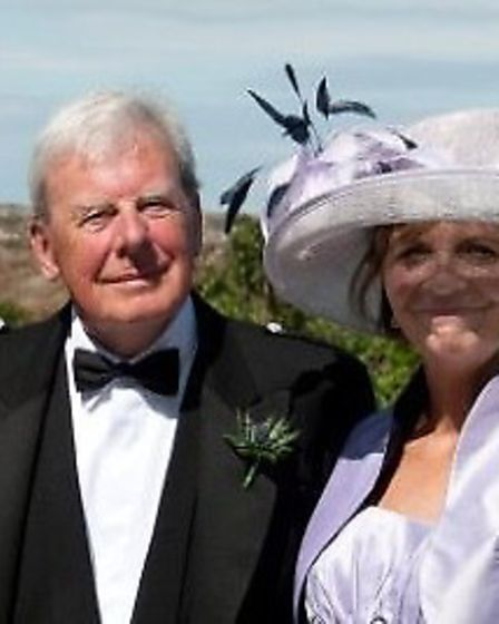 Alistair Campbell, Sadie De Boer's grandfather, who died of pancreatic cancer last year.