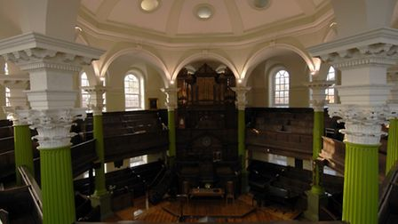 Octagon Chapel, Colegate, Norwich this year celebrates its 250th anniversary.; For : EDP Sunday; Cop