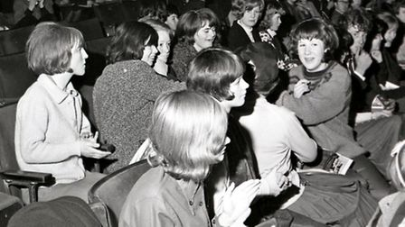 The Rolling Stones at the Gaumont Theatre, Norwich in April 1964