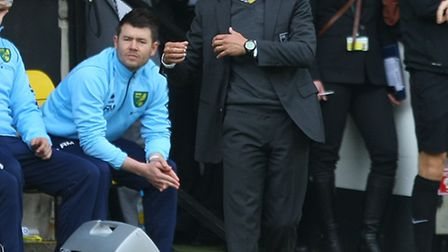 Norwich Manager Chris Hughton during the Barclays Premier League match at Carrow Road, NorwichPictur