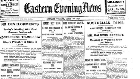 On this day: EN 20 April 1926