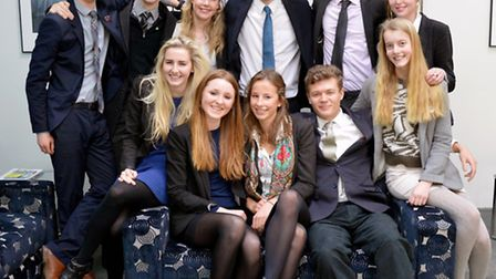 Students at Wymonhdam College who have offered places to study at Cambridge and Oxford unviersites.