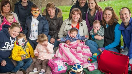 Picnic for the Bargain Buys for Busy Mums group in Waterloo Park on Saturday. Photo: Bill Smith