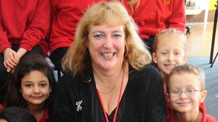 Di McNaught, pictured when she became headteacher of Tuckswood Primary school in 2012. Picture: Deni