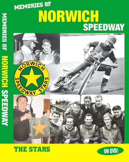 The jacket of the new Norwich Stars speedway DVD