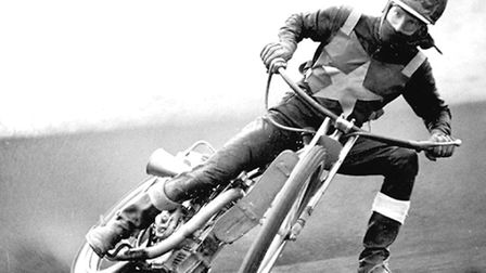 Ove Fundin, the most famous of the riders at Norwich Stars speedway