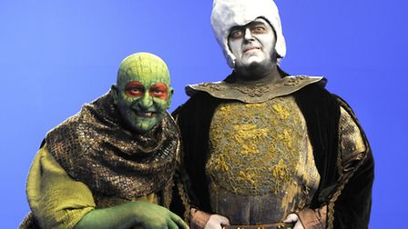 Image released for last year's YouTube production of cult kid's TV game show 'Knightmare' in product