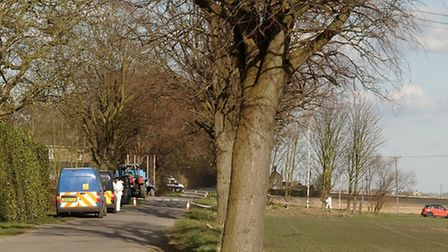 Thorney Dyke, Bodies found. Picture: Steve Williams
