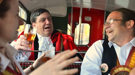 Norwich City of Ale is over for another year: Flashback to Lord Mayor Keith Driver at the launch of