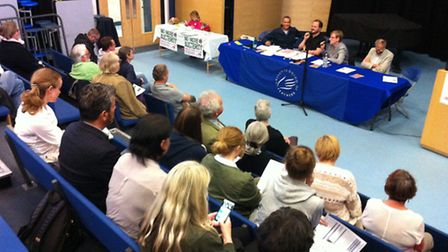 Panelists, left to right: Clive Lewis, Nick O'Brien, Helen McGuiness, Richard Bearman