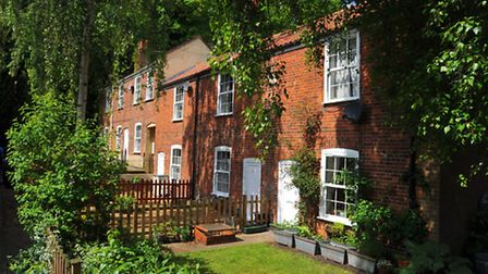 Winkles Row, Norwich that has survived intact since 1820 and now occupied by deaf people from nearby