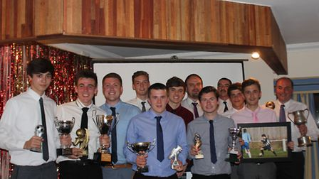 Swaffham FC awards night at Swaffham Conservative Club. Picture: Rebecca Palmer