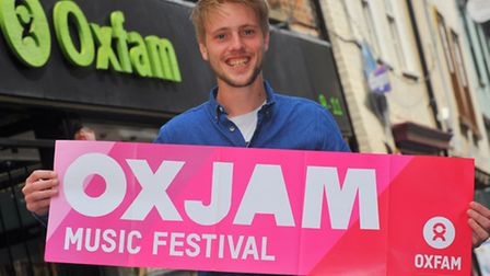Robbie Powell who is one of the organisers of this years Norwich Oxjam. Photo: Steve Adams