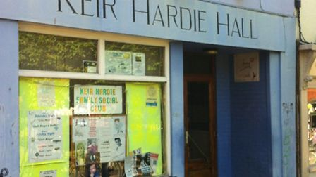Keir Hardie Hall in Norwich is for sale: Photo: David Bale