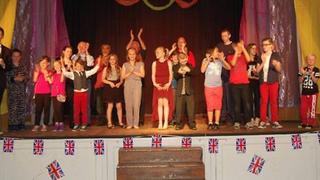 The finalists for Attleborough's Got Talent 2014.