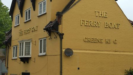 As it once was - The Ferry Boat pub in King Street. Picture: James Bass