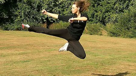 Annabel Renwick, from Eaton, who will be competing in the 2014 World Martial Arts Games, in Canada,