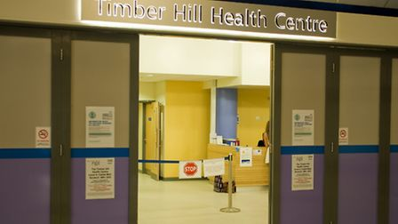 Castle Mall ,NHS Timber Hill health centre1 year OldPhoto: Jerry DawsCopy: ©Archant Photographic 201