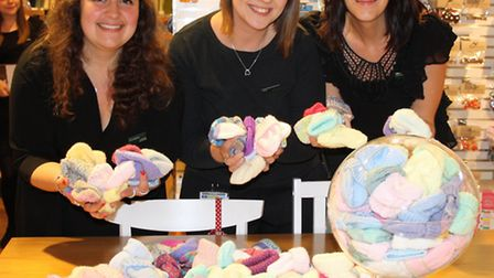 Partners from John Lewis Norwich Haberdashery department have been amazed by the response they have