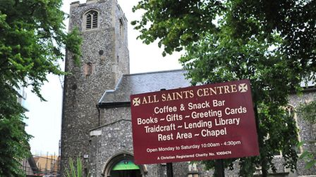 The All Saints Centre and Sanctuary Cafe which are due to close unless funding can be found.Photo by