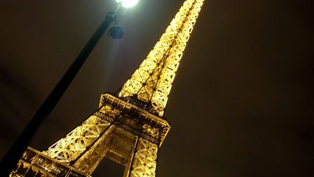 The school trip will take in Paris and the Eiffel Tower. Photo:Antony Kelly.