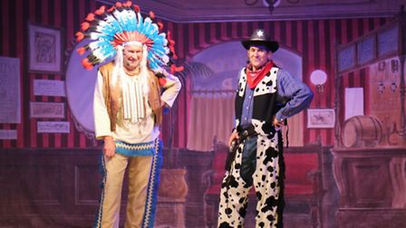 Nigel 'Boy' Syer and Olly Day in their summer show 'If It's Laughter You're After'.