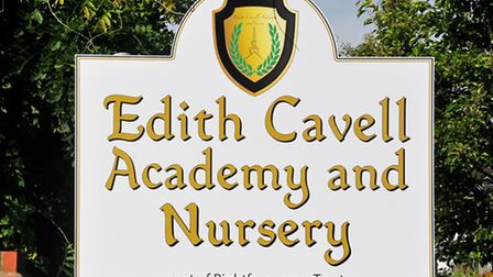 New signage hails the end result of the controversy about the future of Cavell Primary School in Nor