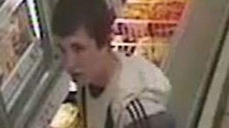 CCTV image from Hall Road incident; Photo credit: Submitted.