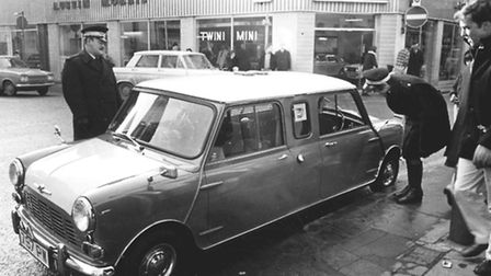King's Lynn - MiscellaneousThis push-me, pull-you Mini had the traffic wardens scratching their he