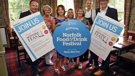 Moveable Feast 2014. Pictured: From left to right, Nick Mills, Sarah de Chair, Philippa Rudd, Michel