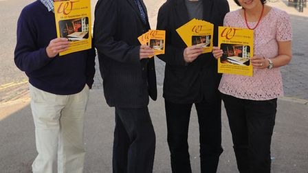 Wymondham Words Festival is launched in the town. John wood, Edward Parnell, George Szirtes, Moniza