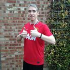 Shaun, who is training for the London Marathon to raise money for Water Aid