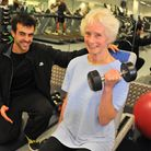 70-year-old Anastacia Sullivan has become an inspiration to others at her gym as she has regular ses