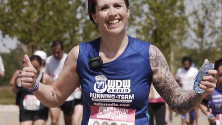 Emma Godbold, who will be taking on the London Marathon for the Make A Wish Foundation