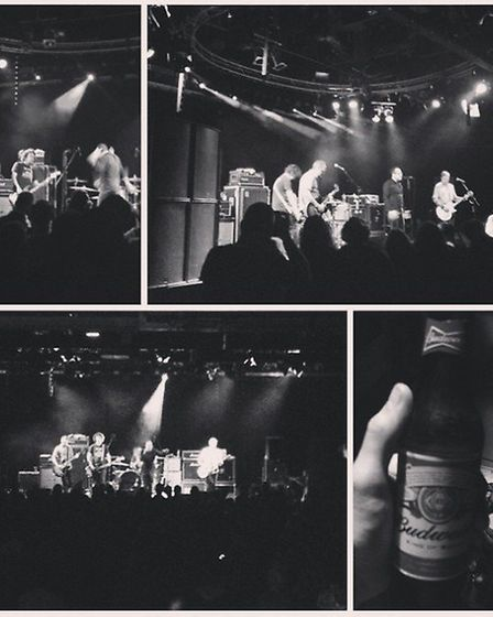The Hold Steady at Epic Studios. Photo supplied by @iseenoise