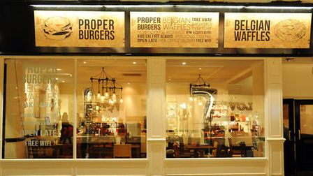 The Seventh Heaven Burger and Waffle House which has opened on Exchange Street. Picture: DENISE BRAD