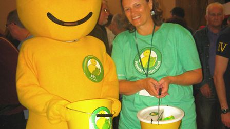 The Hamlet Centre Trust fundraisers collected at the 37th Norwich Beer Festival and raised £9,500