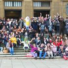 Just under 100 students and staff from Sewell 6th Form Centre (part of Sewell Park College) took par